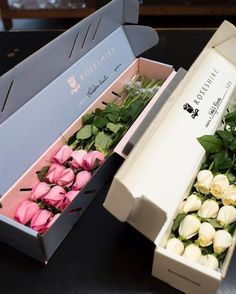 24 Beautiful Valentine's Day Flowers Valentines Flowers 22 Flower Box Gift, Flower Boxes, Valentines Flowers, Valentine Gifts, Flower Shop Design, Flower Arrangements Simple, Gladiolus Arrangements, Calla Lily Flowers, Flower Packaging