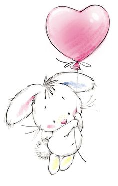 Cute Animal Illustration – Animals Tagged at Cute Images, Cute Pictures, Party Pictures, Animal Drawings, Cute Drawings, Easter Drawings, I Love You Drawings, Beautiful Drawings, Lapin Art