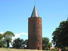 The Vordingborg Castle ruins (Vordingborg Slotsruin) are located in the town of Vordingborg, Denmark and are the town's most famous attraction
