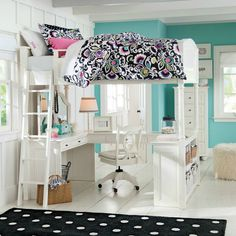 Teenage Girl's Bedroom Idea