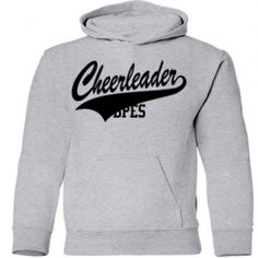 Cheerleading Gear customized for any age, team, and school in the USA.  Show your spirit!
