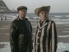"""Last of the Summer Wine - Episode The Great Boarding House Bathroom Caper - Compo: """"We're discussing winkle training. British Tv Comedies, British Comedy, Comedy Tv, Comedy Show, Last Of Summer Wine, Classic Films, Dom, Season 3, New Movies"""