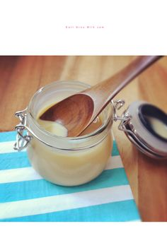 Earl Grey Milk Jam, must give this a try. Imagine with Chai also! Keep in fridge