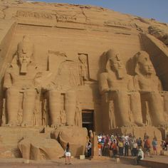 The Great Pyramids of Giza are very impressive and rightfully earn their wonder of the world title. But then there's Abu Simbel. The site has, well, personality. Ramses II is present at every turn, as is his wife Nefertari. Four giant likenesses are carved into rock walls and look out over Lake N...
