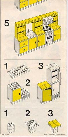 Homemaker - Kitchen [Lego 263]