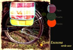 Alforjas para Bicicletas, $350 en http://ofeliafeliz.com.ar