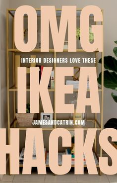 Ikea hacks are everywhere and for good reason, it's a great way to add inexpensi. Ikea hacks are e Ikea Hacks, Ikea Hack Storage, Ikea Kallax Hack, Hacks Diy, Home Decor Hacks, Diy Home Decor On A Budget, Decorating On A Budget, Cheap Home Decor, Decor Ideas