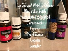 DIY wrinkle reducer with Young Living Essential Oils! Click below to get your wholesale membership today!