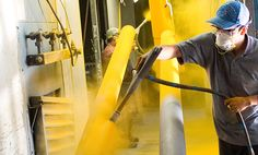 There are two main categories of powder coatings: thermosets and thermoplastics.
