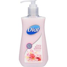 Dial Cherry Blossom and Almond Liquid Hand Soap 221 ML Dial Soap, Foaming Hand Wash, Liquid Hand Soap, Himalayan Pink Salt, Body Wash, Cherry Blossom, Bath And Body, Moisturizer, At Least