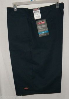 Dickies Size 42 and 44 Mens Uniform Shorts Navy Blue New Service Pants