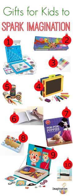Love these artsy gift ideas for creative kids!