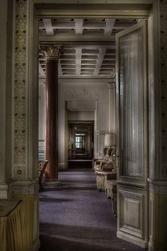 old fashioned hotel lobby - Google Search
