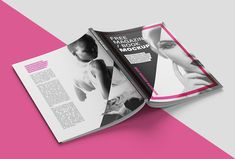 vedi questo progetto behance u201cfree magazine mockupu201d https