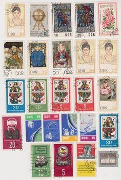 Cancelled Postage Stamps of East Germany (DDR Deutsche Demokratische Republik German Democratic Republic) , http://www.amazon.com/dp/B00CIAASNY/ref=cm_sw_r_pi_dp_2zbErb14PYCZM