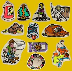 The New Deal Skateboard Stickers