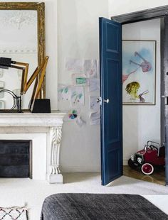 I love children's rooms that don't look exclusively like a children's room. They have enough whimsy to engage the child and its a room that is great for children of all ages.
