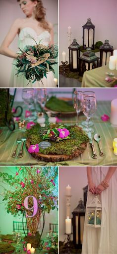 #stylemepretty whimsical wedding.... Would be a cute shower theme!