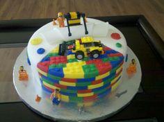 lego birthday cake | lego construction cake mm fondant covered cake fondant legos