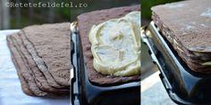 PRAJITURA CU FOI DE CACAO SI CREMA DE VANILIE - Rețete Fel de Fel Camembert Cheese, Dairy, Sweet, Desserts, Food, Deserts, Dessert, Meals, Yemek