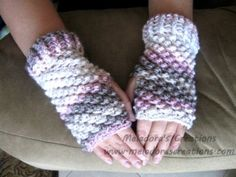 Raspberry St Gloves - Meladora's Creations Free Crochet Patterns & Tutorials