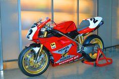 Troy Corser's Ducati 996 WSB 1996