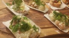Crisp daikon with crab and pomelo