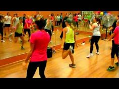 Zumba Workout playlist on Youtube! Free and fun! (Intermediate dance level- some of those moves-transitions aren't easy!)