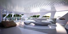 PN Prime Design - Unique Circle yachts - projeto Zaha Hadid, estaleiro Blohm+Voss