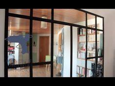DIY / Une verrière d'intérieur en miroirs