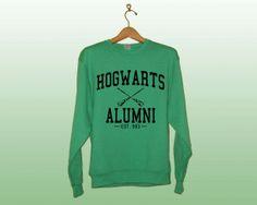 Hogwarts Alumni Sweatshirt  Harry Potter Clothing by BestFanTees, $24.00