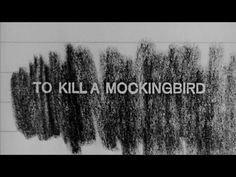 Title Sequence: To Kill A Mockingbird by Stephen Frankfurt (1963) Re-Scored by Matthew Pablo // Stephen Frankfurt's compelling still life sequence was the inspiration for Kyle Cooper's Se7en  // http://www.flavorwire.com/334907/the-most-iconic-film-title-sequences-of-all-time