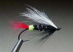Green Butt Skunk Steelhead and Salmon Fly