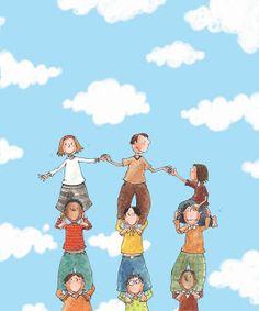 Children are the world  www.facebook.com/filellailustracion