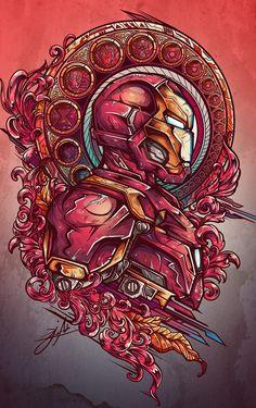 #IronMan #Fan #Art #Fanart #marvel #marveluniverse #illustration #graphicart #geek #comic