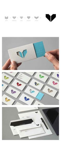 Atipo - Minke Brand Identity (Sleeve with diecut inspiration) Not very cost effective but I love the idea. Corporate Identity Design, Brand Identity Design, Graphic Design Branding, Visual Identity, Logo Design, Brand Packaging, Packaging Design, Name Card Design, Business Card Design