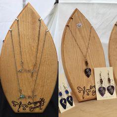 Dig the surfboard displays I made for my wife's handmade jewelry! What can I make for you? http://ift.tt/1GfEAVZ #surf #surfboard #surfart #roxy #ripcurl #quiksilver #woodwork #reef #billabong #architecture #waves #gopro #australia #lgbt #aloha @theellenshow #oneill #volcom #hurley #beach #interiordesign #art #obx #hawaii @wsl #rio #california #guitar #ink #wsl #handmade #bellsbeach by jeffczyk http://ift.tt/1KnoFsa