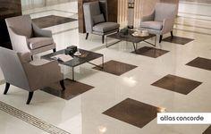 #MARVEL champagne and bronze | #Floor design | #AtlasConcorde | #Tiles | #Ceramic | #PorcelainTiles
