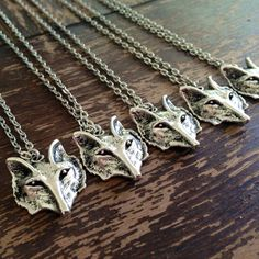 Wolf Necklace - Silver Plated - Wolf Pendant - Hipster - Boho - Tribal - Native American on Etsy, $18.00