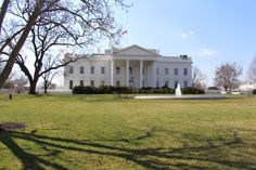 The White House! When I took this picture, I realized one of my little girl dreams :)  Ps: try not to go during the afternoon. It gets super crowed and to get a stop to see correctly the House is kind of hard...