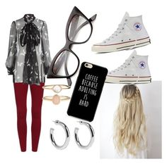 """random"" by sofia79918 on Polyvore featuring beauty, Alexander McQueen, Converse, Sophie Buhai and Accessorize"