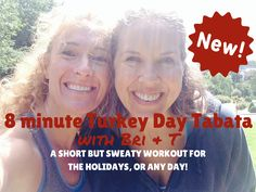 8 minute Tabata workout from Fem Fusion.  Perfect for the holidays!