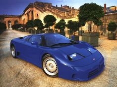 Bugatti EB110... Want!