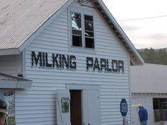 The Milking Parlor at the Fryeburg Fair