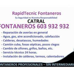 RapidTecnic Fontaneros Su Seguridad es Nuestra Responsabilidad CATRAL FONTANEROS 603 932 932 - Reparación de averías en general - Agua, gas, aire acondicion. http://slidehot.com/resources/fontaneros-catral-603-932-932.58028/