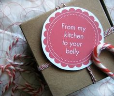 Gets right to the point!  #printable gift tags