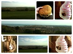 Portsdown, Hill, Portsmouth, Burger, View, Sea, Hampshire, Ice, Cream, Lee-on-the-solent, Bluebird, Cafe