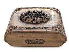 Walnut jewelry box $127