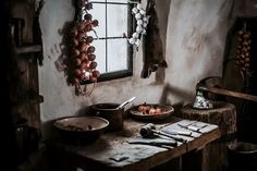 Image discovered by Alrauna. Find images and videos about medieval and middle ages on We Heart It - the app to get lost in what you love. Skyrim, Country Life, Hearth, Sweet Home, Fantasy, Interior Design, Decoration, Home Decor, Aesthetics