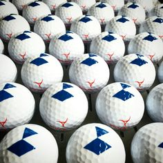 """Can you customize 340 golf balls with our logo today and deliver tomorrow?"". Ofcourse! #customgolfballs"